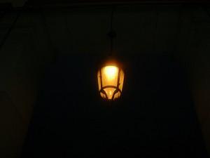 lampione a lutto