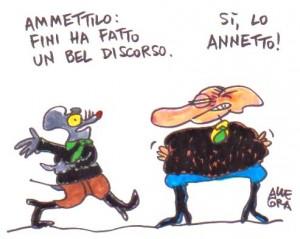 Vignetta di Gianni Allegra