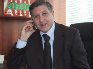 Vincenzo Galioto, ex presidente dell'Amia, oggi senatore del Pdl