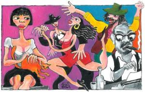 L'illustrazione è di Gianni Allegra