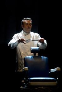 L'attore Filippo Luna