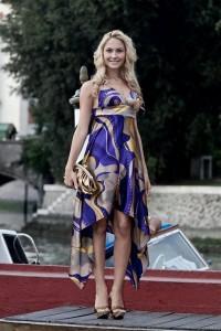 Noemi Letizia al festival di Venezia
