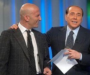 Minzolini e Berlusconi