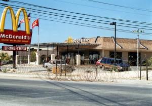Il McDonald's di Guantanamo