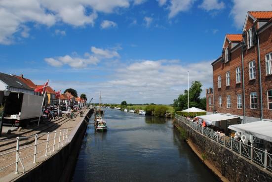 Uno scorcio di Ribe, in Danimarca