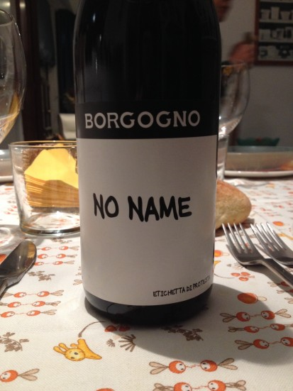 Borgogno No Name