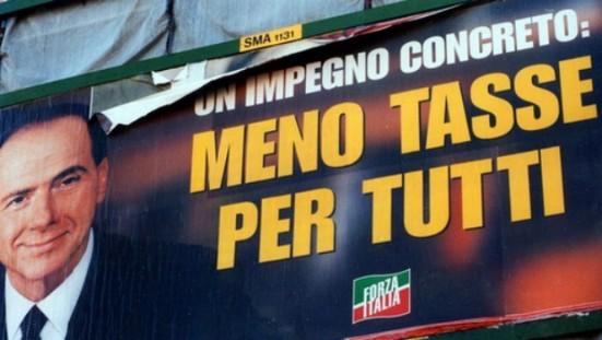 meno-tasse-per-tutti-Manifesto-Berlusconi-Meno-tasse-per-tutti