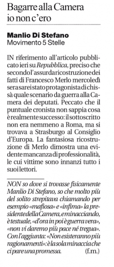 Manlio Di Stefano Francesco Merlo