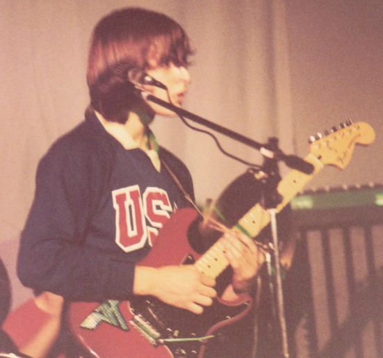 Gery e la sua Fender Stratocaster