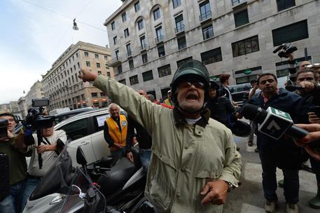 Beppe Grillo a Genova