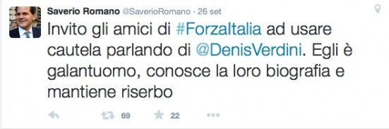 saverio romano tweet