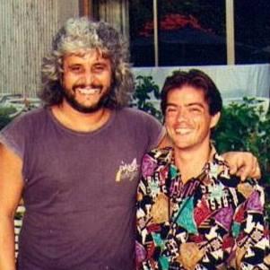 Fabio Aguglia con Pino Daniele