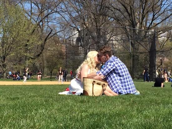 baci a central park