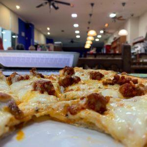 Pizza vista nulla