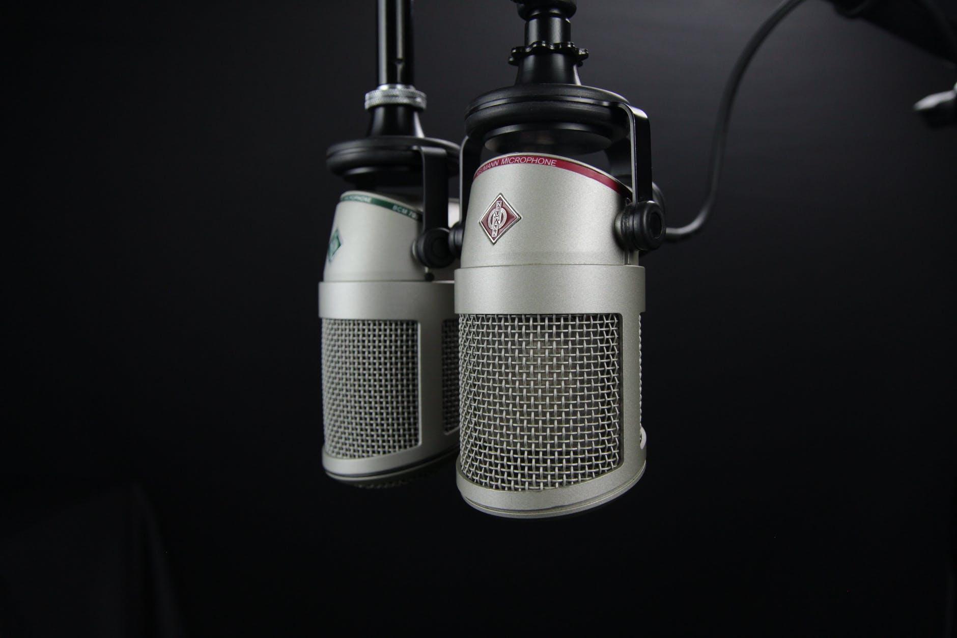 aluminum audio battery broadcast
