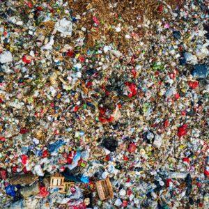 bird s eye view of landfill during daytime